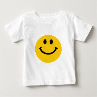 Gelber Smiley Baby T-shirt