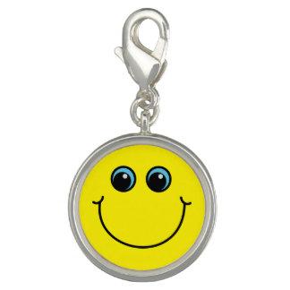 Gelber Smiley Charm