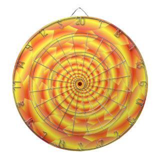Gelber Snakeskin gewundener Dartboard Dartscheibe