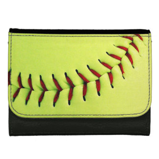 Gelber Softballball