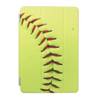 Gelber Softballball iPad Mini Hülle