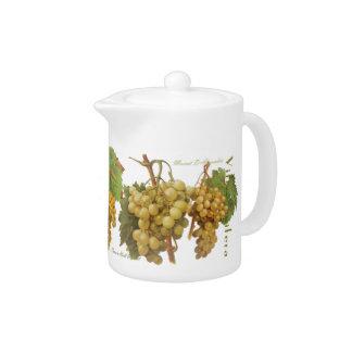 Gelber Trauben-Rahmtopf/Milchkrug