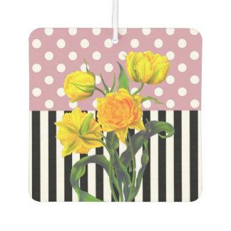gelber Tulpe-Tupfen Lufterfrischer