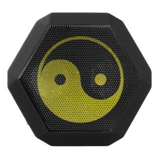 Gelber und schwarzer Yin Yang Boombot REX Schwarze Bluetooth Lautsprecher