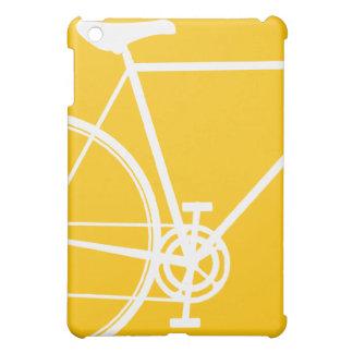 Gelber und weißer abstrakter IPad Minikasten iPad Mini Hülle