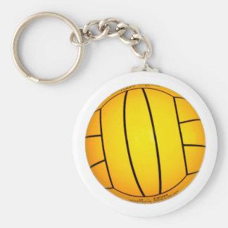 Gelber Volleyball Schlüsselanhänger