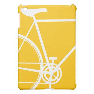 Gelber Zyklus-Entwurf iPad Mini Hülle