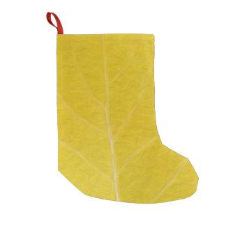 Gelbes Aspen-Blatt #5 Kleiner Weihnachtsstrumpf