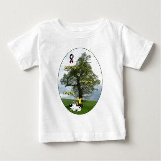 Gelbes Band - Süsse wartete und hoffte und sehnte Baby T-shirt