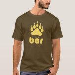 Gelbes Bär Bärtatze T-Shirt