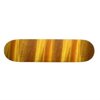 Gelbes Blatt-Beschaffenheit Individuelle Skateboarddecks