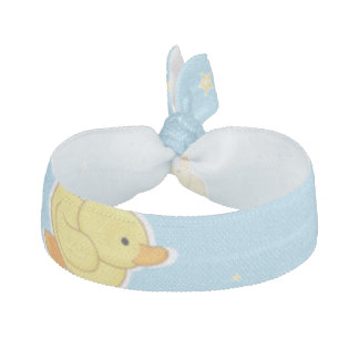 Gelbes Entlein-Baby-Blau Haarband