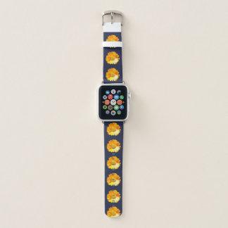 Gelbes Gänseblümchen Apple Watch Armband