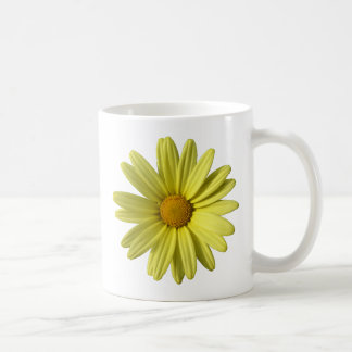 Gelbes Gänseblümchen Kaffeetasse
