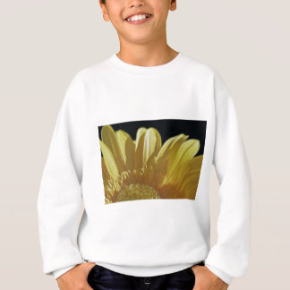 Gelbes Gerbera-Gänseblümchen Sweatshirt