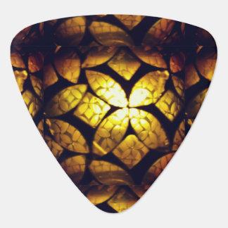 Gelbes GlasPlektrum Plektrum