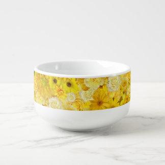 Gelbes Große Suppentasse