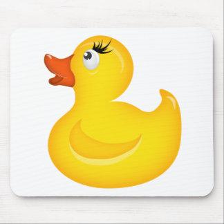 Gelbes GummiDuckies Mousepad