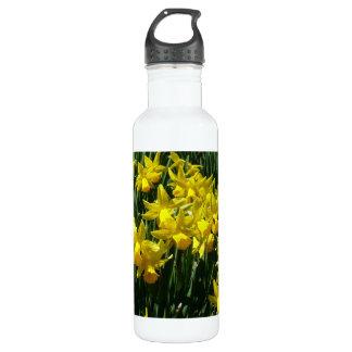 Gelbes heitre Frühlings-Blumen der Narzissen-I Trinkflasche