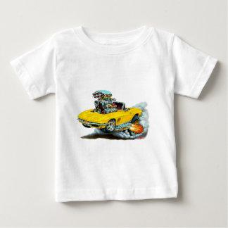 Gelbes Kabriolett 1966-67 Korvette Baby T-shirt