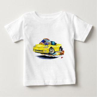 Gelbes Kabriolett 2005-10 Korvette Baby T-shirt