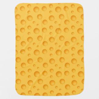 Gelbes Käse-Muster Baby-Decke