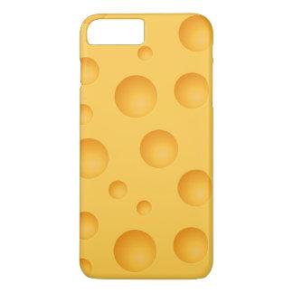 Gelbes Käse-Muster iPhone 8 Plus/7 Plus Hülle
