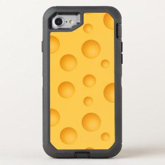 Gelbes Käse-Muster OtterBox Defender iPhone 8/7 Hülle