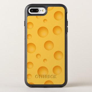 Gelbes Käse-Muster OtterBox Symmetry iPhone 8 Plus/7 Plus Hülle