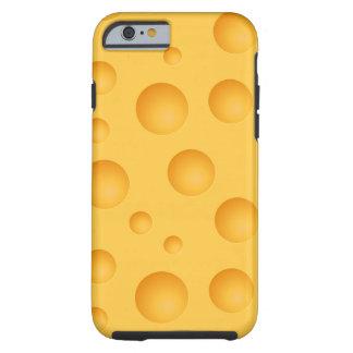Gelbes Käse-Muster Tough iPhone 6 Hülle