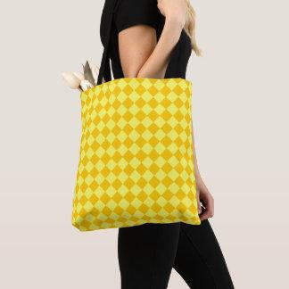 Gelbes Kombinations-Diamant-Muster durch STaylor Tasche