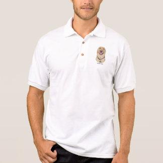 Gelbes Labrador-Polo Polo Shirt