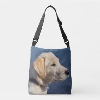Gelbes Labrador retriever Tragetaschen Mit Langen Trägern