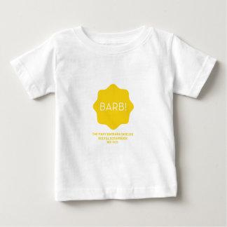 Gelbes Logo Baby T-shirt