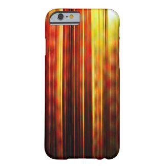Gelbes Muster der hellen Streifen Barely There iPhone 6 Hülle