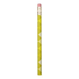 Gelbes Rautenmuster Bleistifte 0