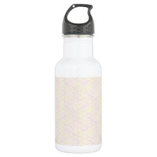 Gelbes Rosen-Meerjungfrau-Pastell-Muster Trinkflasche