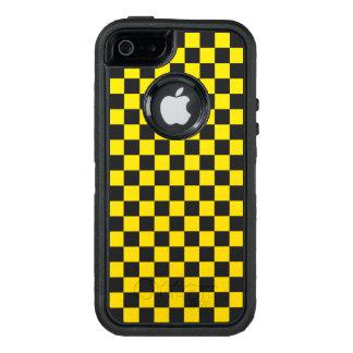 Gelbes Schachbrett OtterBox iPhone 5/5s/SE Hülle