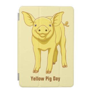 Gelbes Schwein-Tagesam 17. Juli niedliches Ferkel iPad Mini Hülle