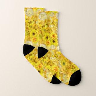 Gelbes Socken