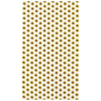 Gelbes Sonnenblume-Muster Tischdecke