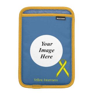 Gelbes Standardband durch Kenneth Yoncich Sleeve Für iPad Mini