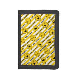 Gelbes Streifen-Muster Herr-Happy  