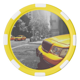 Gelbes Taxi 01 Poker Chips Set