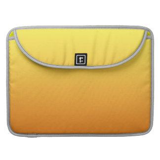 Gelbes u. orange Ombre Sleeve Für MacBooks