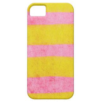 Gelbes und rosa Fall iphone fünf iPhone 5 Etuis