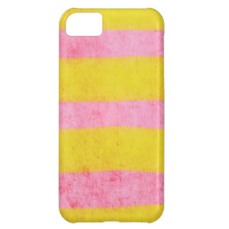 Gelbes und rosa Fall iphone fünf iPhone 5C Hülle