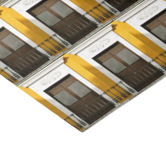 Gelbes Windows von altem San Juan, Puerto Rico Seidenpapier