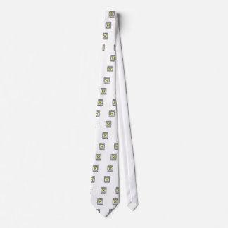 gelbes zerbrechliches krawatte