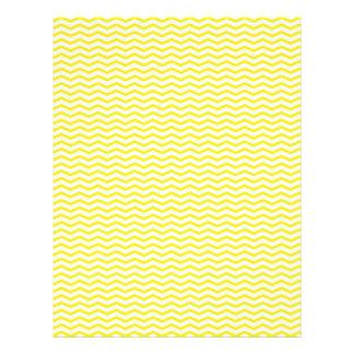 Gelbes Zickzack/Zickzack-Einklebebuch-Papier 21,6 X 27,9 Cm Flyer